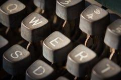 We on typewriter Royalty Free Stock Images