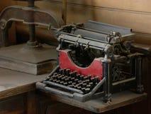 TypeWriter. Vintage Typewriter Royalty Free Stock Photos