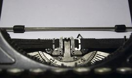 Typewriter. Old typewriter Stock Photography