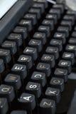 Typewriter. Close up of vintage typewriter keyboard Royalty Free Stock Photos