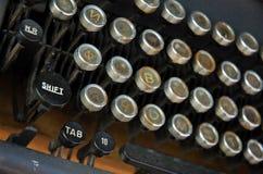 Typewriter. Close up of old typewriter in Beijing,China stock images