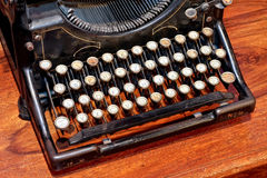 Typewriter angle Stock Images
