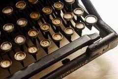 Typewriter antica, 1907 immagine stock libera da diritti