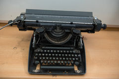 Typewriter. Antique Typewriter,Antique typewriter is not commonly used Stock Photography