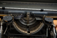 Typewriter. Antique Typewriter,Antique typewriter is not commonly used Stock Photos