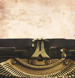 Typewriter with blank page Royalty Free Stock Photography