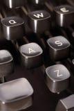 Typewriter button Stock Photo