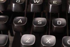 Typewriter button Royalty Free Stock Photo