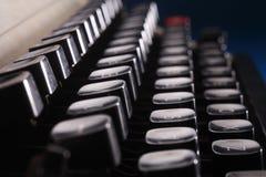 Typewriter button Royalty Free Stock Photography