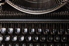 Typewriter button Royalty Free Stock Image
