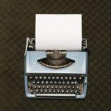 Typewriter on carpet. Stock Image