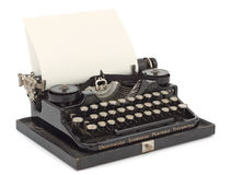 Typewriter Close-up Royalty Free Stock Photography