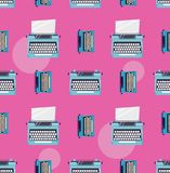 Typewriter color pattern. For you Royalty Free Stock Photography