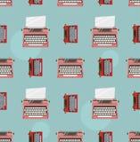 Typewriter color pattern Stock Photo