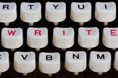 Typewriter detail. Detail of an old typewriter Royalty Free Stock Photo