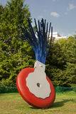 Typewriter Eraser by Claes Oldenburg (1999) Royalty Free Stock Image