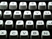 Typewriter keyboard Royalty Free Stock Images
