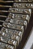 Typewriter keyboard Royalty Free Stock Images