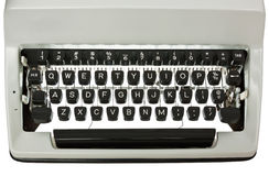 Typewriter Keyboard Backlit Royalty Free Stock Photography