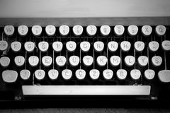 Typewriter Keyboard Stock Photos