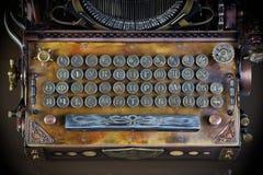 typewriter keyboard. Stock Photography