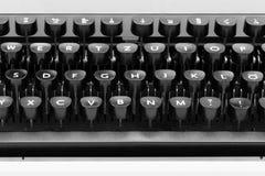 Typewriter Keys Stock Image