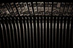 Typewriter Keys Royalty Free Stock Photos