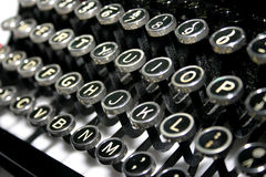 Typewriter Keys Royalty Free Stock Image