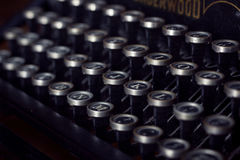 Typewriter keys Stock Photos