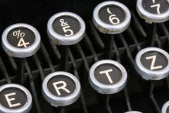 Typewriter Keys II Stock Images