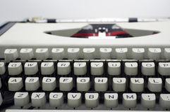 Typewriter message Royalty Free Stock Photography