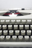 Typewriter message Royalty Free Stock Images