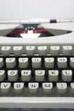 Typewriter message Royalty Free Stock Images