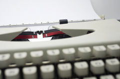 Typewriter message Royalty Free Stock Image
