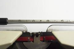 Typewriter message Stock Photos