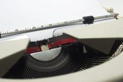 Typewriter message Royalty Free Stock Photo