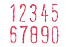 Typewriter number Stock Photo
