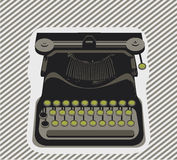 Typewriter- object Royalty Free Stock Photo