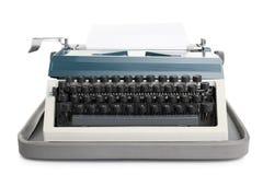 Typewriter with paper Royalty Free Stock Photos