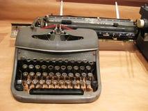 Typewriter, photocopier. Stock Photo