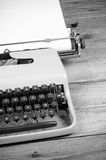 Typewriter ready for action Royalty Free Stock Photos