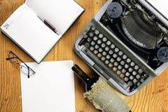 Typewriter retro desktop Stock Photos