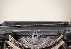Typewriter. Storytelling Fairy Tale Book Journalist Old Writing Royalty Free Stock Image