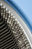 Typewriter typebars. Stock Photography
