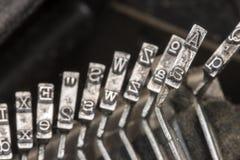 Typewriter Typebars A 05 Royalty Free Stock Photos