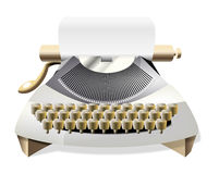 Typewriter vector Stock Photo