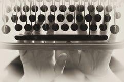 Typewriter vintage background Stock Photos