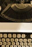 Typewriter vintage Royalty Free Stock Photo