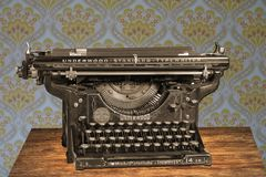 Typewriter, Vintage, Old, Manual Royalty Free Stock Images