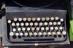 Typewriter. Vintage style journalist typewriter keyboard Royalty Free Stock Images